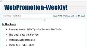 WebPromotion-Weekly!